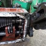 Пока с работой не особо, занимаемся ремонтом оборудования, коробка подач 1К62.