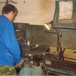 Виктор Зайцев, отличный токарь, пришел к нам работать вслед за своим братом Алексеем, потом увольнялся и вот сейчас снова работает у нас!